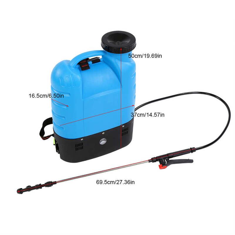 16L Electric Backpack Type Agricultural High Pressure Sprayer Gardening Tool 110V US Plug Paint Gun Garden Supplies-4