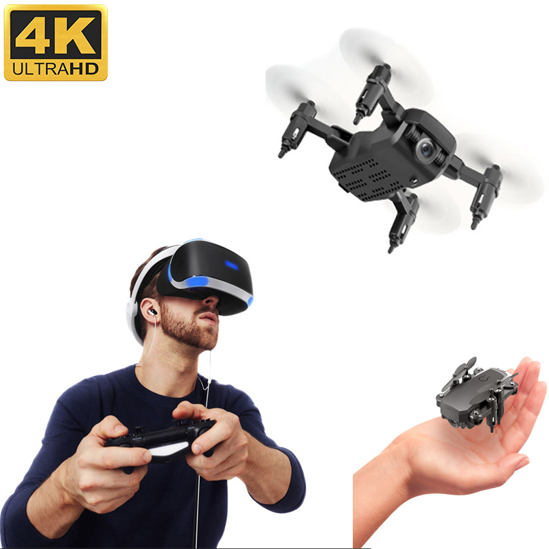 Mini Drone With Camera HD 4K 1080P 2020 New Selfie Mini Drones Rc 4k Hd Camera Without Helicopter Remote Control Vr Glasses Toy