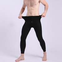 500g 600g Velvet Thick Winter Men Leggins 4XL Men's Long Johns Plus Size Tights Mens Leggings Thermal Warm Pants Underwear 634