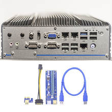 Yükseltici kart 008C PCI-E 1 ila 16 kez PCI genişletici yükseltici kart GPU yükseltici adaptörü hiçbir sürücü gerekli USB 3.0 uzatma kablosu