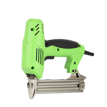 Coil Nailer Electric Tacker Stapler Nail Gun Power Tools Furniture Staple Gun For Frame With Staples And Woodworking Diy Home