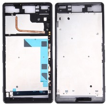 Top quality For Sony Xperia Z3 / L55w / D6603  Front Housing LCD Frame Bezel Plate Replacement +Repair Tool мобильный телефон sony xperia z3 d6603