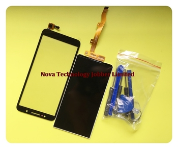 Wyieno Tested Black Touchpad For Alcatel 1C 5009D 5009 Touch Screen Digitizer Front Glass Sensor Panel LCD display screen +track фото