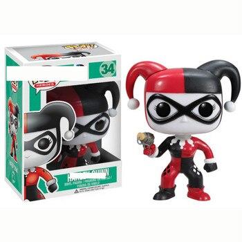 Funko POP Harley Quinn The Joker Vinyl Action Figures Collection Model Kids Toys for Children 2