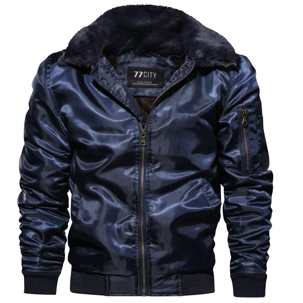 2020 Explosion Models Cotton Warm Winter Clothing New Cardigan Zipper Casual Wear Men's Loose Flight Suit Cotton Clothes  MY128