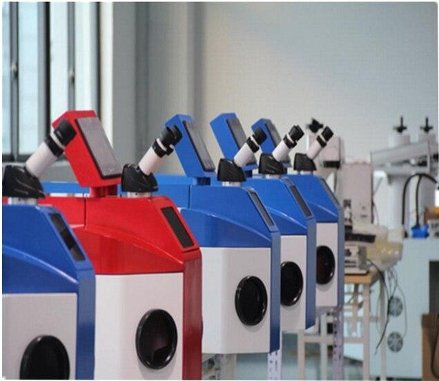 테이블 상단 금색과 은색 보석 레이저 스폿 용접 기계 100 w 200 w 치과 실험실 금세 공