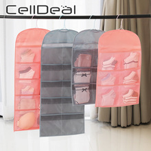 Bag Hanging-Organizer Clothing Storage-Bag Underwear Wardrobe Multipockets Foldable Oxford