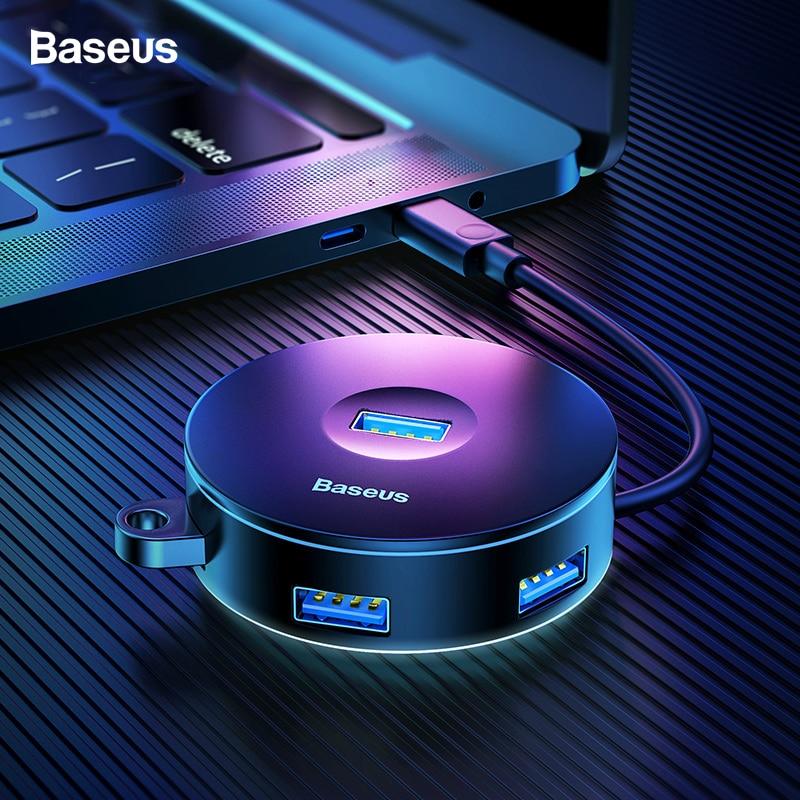 Baseus USB HUB USB C to Multi Ports USB3.0 Type C HUB Splitter USB-C Adapter