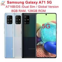 Samsung Galaxy A71 5G A716B/DS Dual Sim глобальная Версия 8 Гб оперативной памяти 128 ГБ ROM 6,7