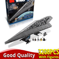 In stock Legoinglys Ultimate Collector Series 10221 Super Star Destroyer Building Blocks Bricks starwars Toys lepinlys 05028 set