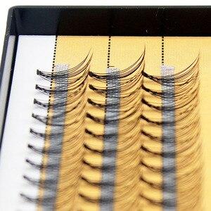 Image 4 - Kimcci プロまつげエクステンション天然ハンドメイド 10D ミンクメイク個人クラスタアイまつげグラフトつけまつげ
