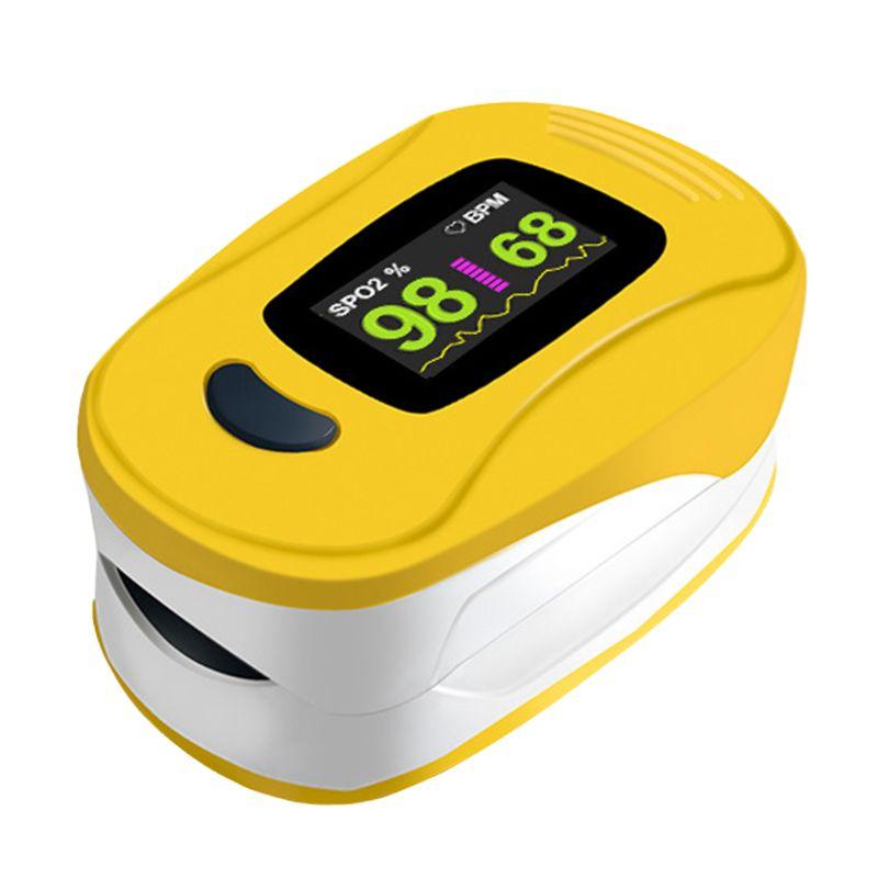 Finger Fingertip Pulse Oximeter Oxygen Saturation Monitor For Adults & Children