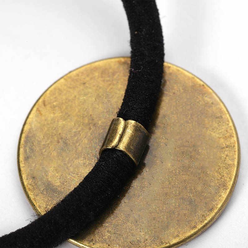 Yeni 10 adet saç bandı ayarı 20/25mm Cabochon bankası tutucu ile elastik bant halat firkete DIY takı yapımı bulguları aksesuar