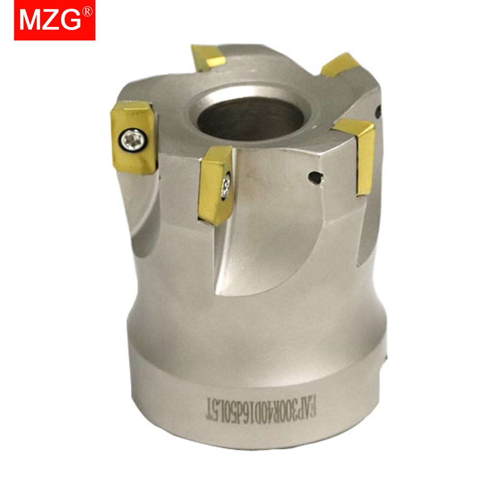 MZG BAP300R40-16-5T Clamped CNC Cutting End Mill Shank Shoulder Right Angle Precision Face Milling Cutter