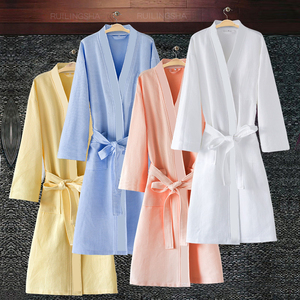 Image 1 - Roupão feminino kimono de absorção de água, roupão feminino sensual moderno de banho, vestidos de dama de honra para amantes
