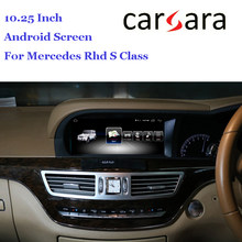 Rhd Mercedes W221 Android Bluetooth 10.25 Stereo Hoa Tiêu Cho Tay Phải Ổ Bến Z S Class S280 S320 S350 S400 s5 AMG(China)