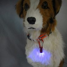 Светодиодный светильник на dog tag для ночного Безопасность
