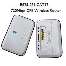 Huawei B625-261 4g lte cat 12 720mbps cpe roteador sem fio com slot para cartão sim pk b315 b535 b818 b525