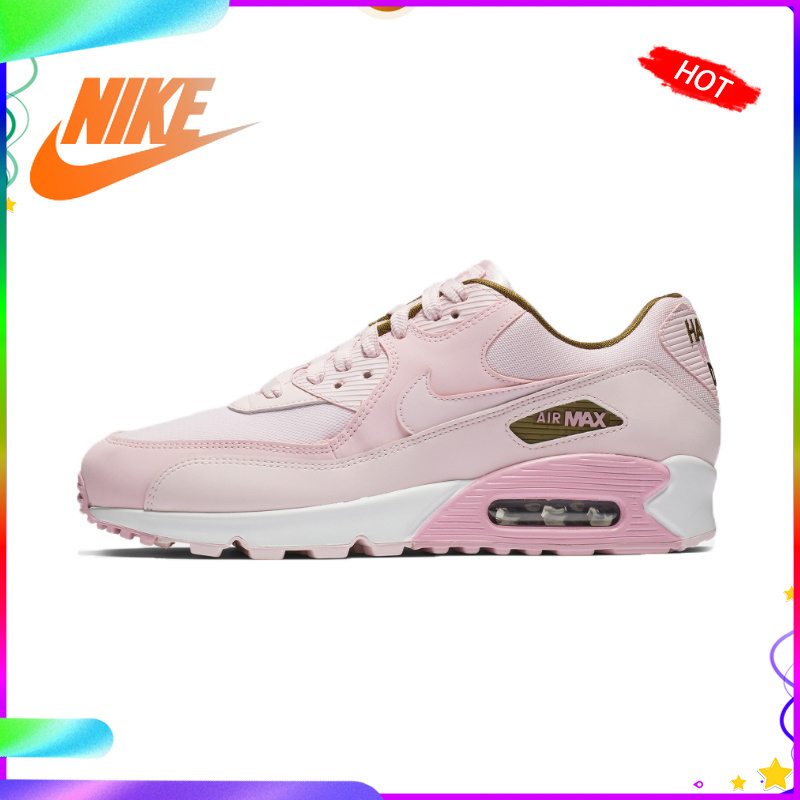 Original Authentic Nike AIR MAX 90 SE Women's Sneakers Running Shoes Lace-Up Low Top Leisure Sports Outdoor Designer 881105