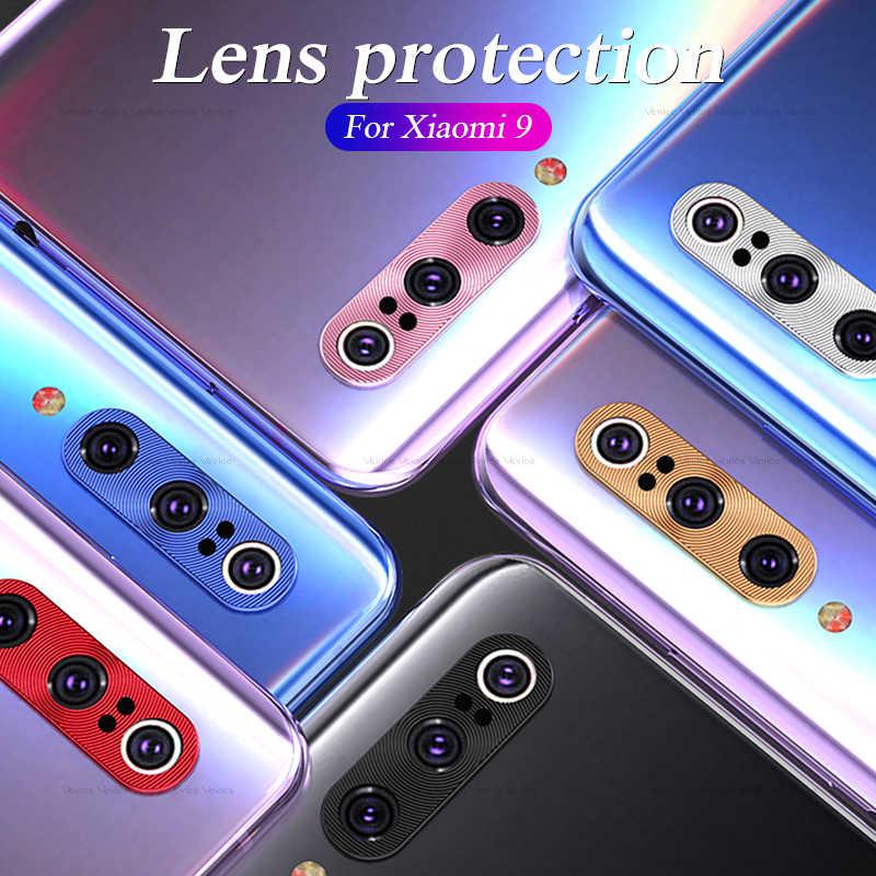 Lente da câmera Anel de Proteção Para Xiao mi mi 9 9SE 8 SE 8se 9se mi mi mi 8se 9 Metal voltar Camera Len Capa Protetora Caso Do Telefone móvel