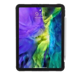 "Image 2 - El kayışı durumda Apple iPad Pro için 11 inç 2018 Tablet TPU + PC ağır zırh vaka iPad pro 11 ""2020 hibrid sağlam kauçuk"