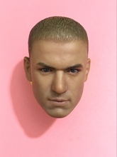 Scale  1/6 For collection figure head carving Prison Break 1/6 Michael J Scofield Head Sculpt Toys Gift for 12inches male body 1 6 scale kobe head sculpt basketball star head carving model toys sotoys so 13