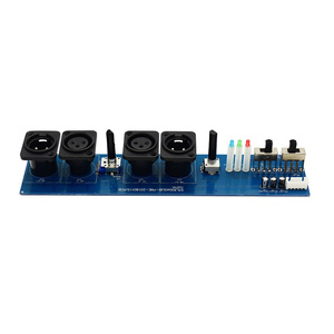 Image 4 - Lusya Subwoofer preamplifier board Adjustable frequency  phase stereo channel Preamp D4 012