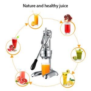 Image 5 - Stainless Steel press juicer squeezer citrus lemon orange  pomegranate fruit juice extractor commercial or household