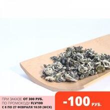 чай зеленый листовой элитный китайский молочный Би Ло Чунь 100 г, купон 550 руб . от 2 шт.