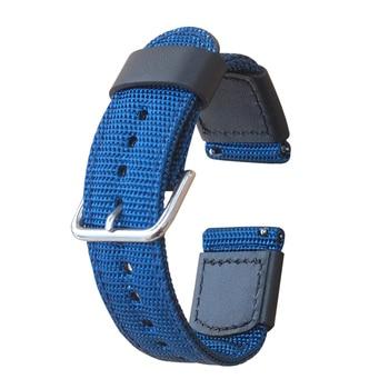 18mm 20mm 22mm Nylon Watchband  nylon strap for Huawei Watch GT Samsung Galaxy Bands
