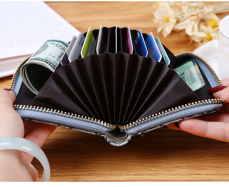 2020 New ID Card Credit Card Wallet Creative Organ Shape Storage Bag Small Bag Cheap Business Credit Card Package Package Wallet