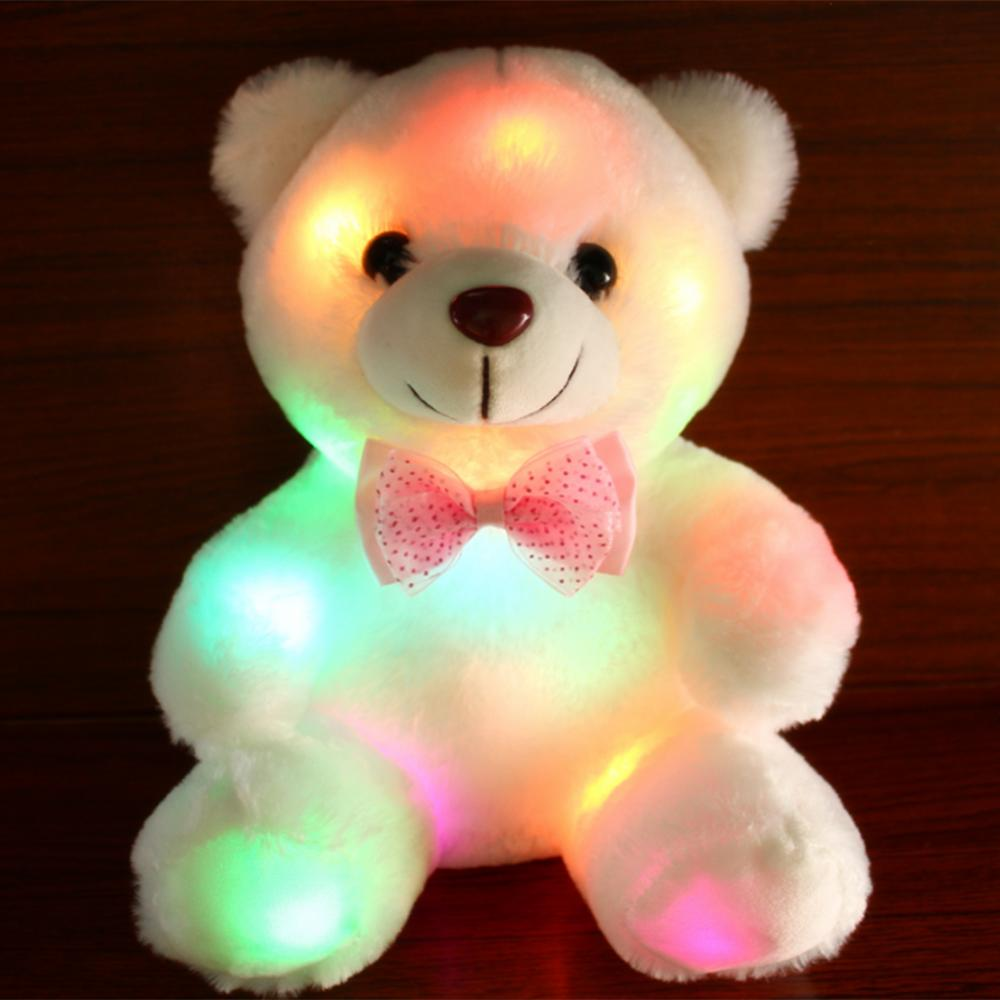 Glowing LED Dolphin Stuffed Toys Sea Animals Stuffed Toys Multiple Colour Changes LED Soft Toys