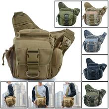цены Outdoor Military Tactical Sling Sport Travel Chest Bag Shoulder Bag Crossbody Bags Tactical Pouch Hiking Camping Equipment D25
