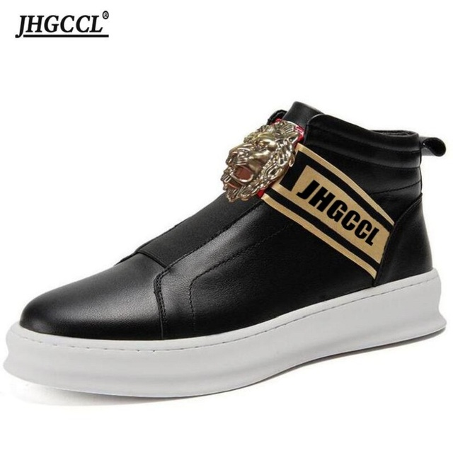 Zapatos informales de lujo para hombre, mocasines de marca de lujo de alta calidad, color negro, Accesorios de belleza, P26, novedad 1