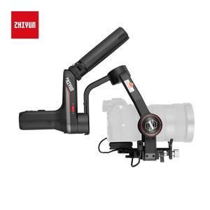 Image 2 - Zhiyun weebell S المحمولة 3 Axis يده مثبت أفقي شاشة OLED لكانون EOS R A7III A7M3 Z6 Z7 S1 المرآة