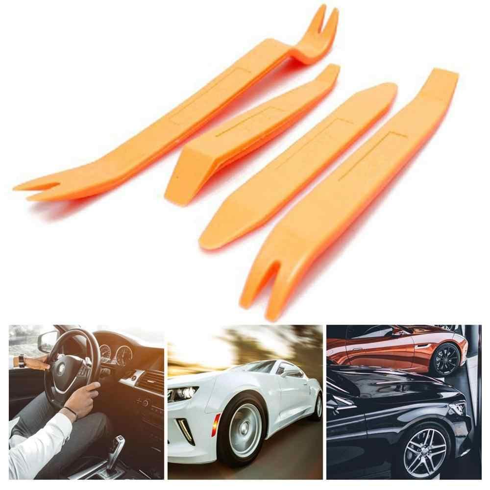 Yeni otomatik kapı klip paneli Trim temizleme alet setleri navigasyon sökme tahterevalli araba iç plastik tahterevalli dönüşüm aracı 4 takım