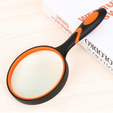 Useful 6 Times Handheld Magnifier Multipurpose Reading Jewellery Evaluating Magnifiers Durable Magnifying Glass Loupe Multi Tool handheld 0 25