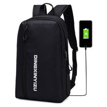 Laptop Backpacks School-Bags Anti-Theft Large-Capacity College for Male Mini USB Men