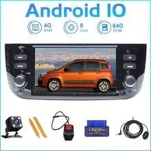 ZLTOOPAI Android 10.0 8 çekirdekli Fiat/Linea/Punto evo 2012 2015 multimedya oynatıcı araba Wifi/3G/4G otomobil radyosu