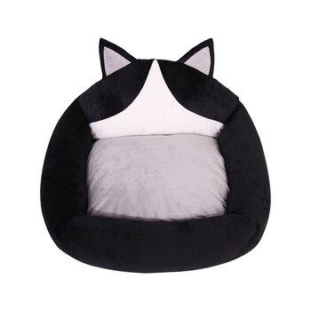 Зимняя теплая мягкая кровать для питомца, домик для собаки, маленькая кровать для собаки, диван для питомца, подушка для питомца, диван для п