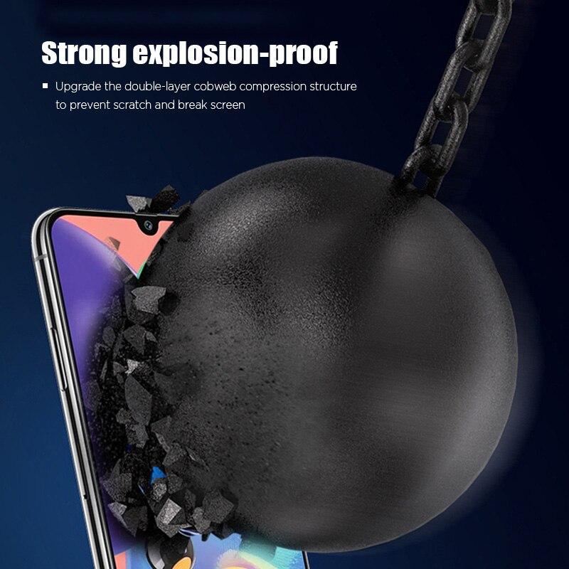 Miếng dán kính cường lực full màn hình 111D cho Samsung Galaxy A01 - A10 - A10s - A20 - A20s - A30 - A30s - A31 hiệu HOTCASE