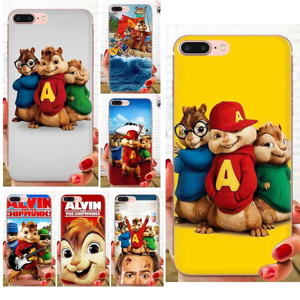 Alvin And The Chipmunks 3 Images soft tpu capa case for xiaomi redmi note 2 3 3s 4 4a 4x 5 5a