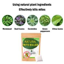 6 шт пылевые клещи убивают натуральные травяные червей анти