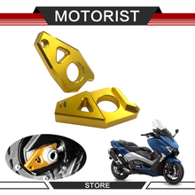 Motorcycle CNC Rear Axle Spindle Chain Tensioner Adjuster Blockers for Yamaha Tmax 530 FZ8 2012-2015 FZ1 YZF R1 2006-2015