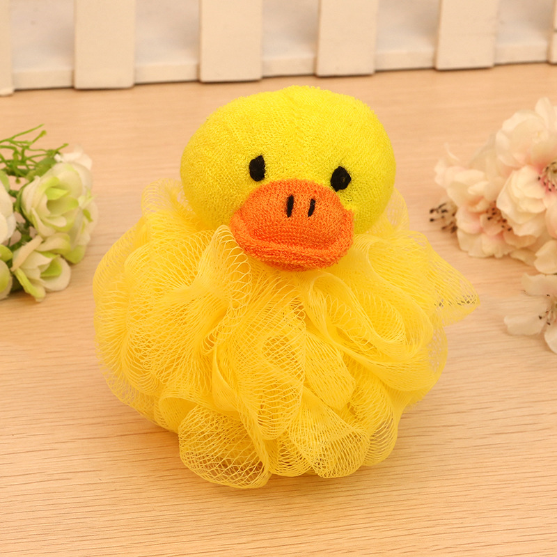 1PCS Random Animal Sharp Bath Shower Item Child Kid Baby Body Wash Clean Ball Sponge Flower Tool