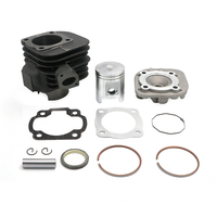 90cc 2 Stroke Big Bore Engine Rebuild Kit Cylinder Kit Cylinder Head assy For Scooters With Jog Minarelli Clone Motors