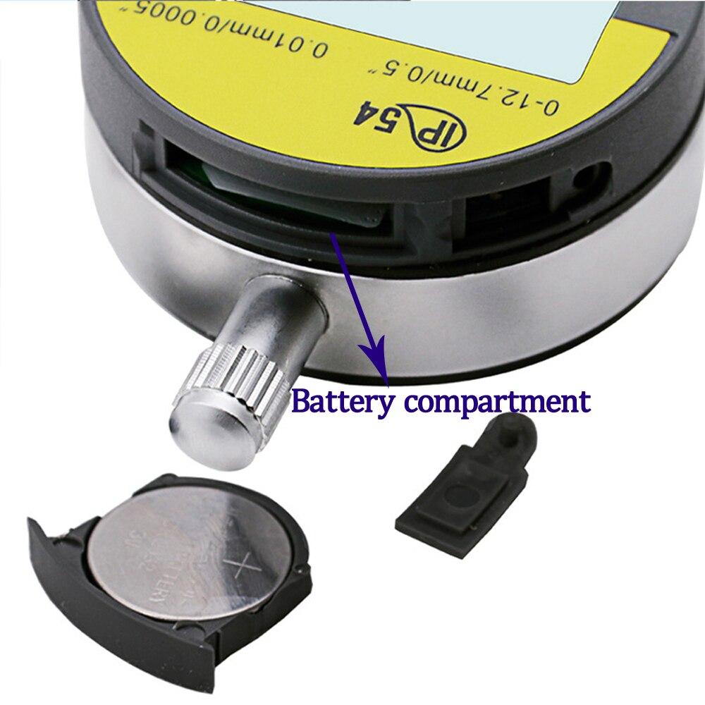 oilproof digital micrometro metrico polegada lcd dial indicador medidor 02