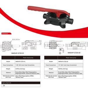 Image 2 - Herramientas manuales 720GPH, bomba Manual, duradero, diafragma de sentina, autocebante, fácil de instalar, anticorrosión, alta presión, transferencia de agua