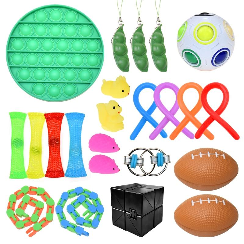 Fidget Toys Pack Sensory Toy Set Children Antistress Relief Autism Anxiety Anti Stress img2