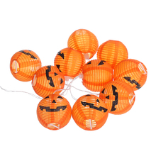 Halloween Pumpkin LED lantern Light Decorative String Horror Face Atmosphere Battery Box